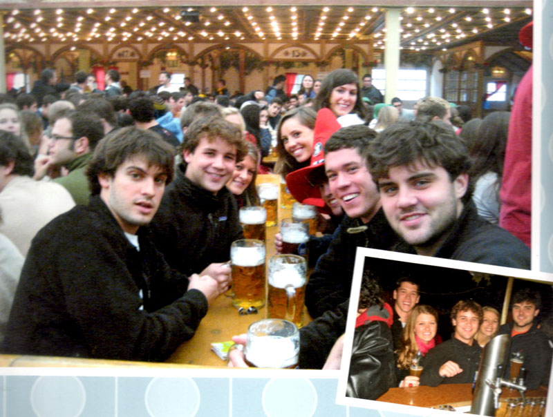 Nick and Friends at Oktoberfest Germany