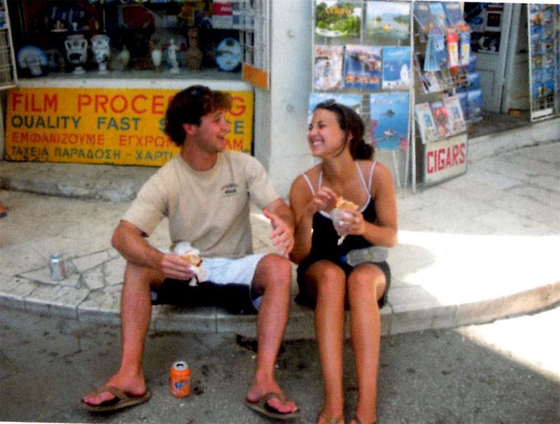Nick and Olivia in Corfu