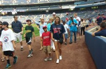 Braves Night for the Christopher League, which the Foundation helps fund.