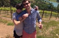 Casey and Bryce   Napa Valley, California