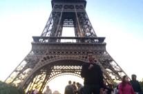 Rishav at Eiffel Tower in Paris