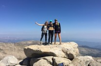 Maggie Reynolds and friends, Mt. Evans Colorado