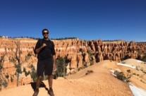 Rishav at Bryce Canyon Park, Escalante Utah