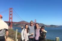 Margot, Harrison, Bryce, Casey. San Francisco, California