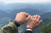 Carol and Greg Adams in Slovenia
